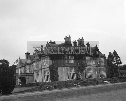 14th June 1964; Muckross House in Killarney taken on the day the house was opened to the public for the first time since the Elizabethan Mansion was handed over to the State by Mr Bowers Bourne and his son-in-law Mr Arthur Vincent in 1932.