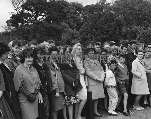14th June 1964; A photo taken when Muckross House in Killarney opened to the public for the first time since the Elizabethan Mansion was handed over to the State by Mr Bowers Bourne and his son-in-law Mr Arthur Vincent in 1932.
