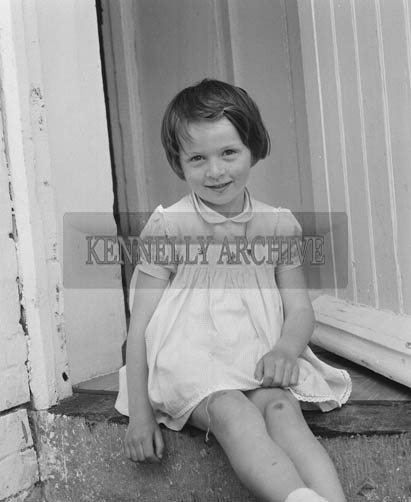 15th June 1964; A photo of a girl in Fenit.
