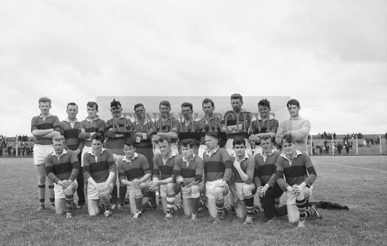 21st June 1964; A photo of St Vincent's Football Team who were defeated by John Mitchel's in the first round of the Senior County Football Championship in Austin Stack Park 3-8 to 0-11.