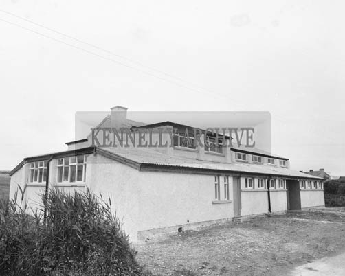5th July 1964; An exterior photo of Portmagee Community Centre.