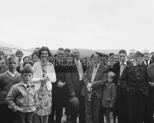 5th July 1964; A photo of the crowd at the opening of Portmagee Community Centre.