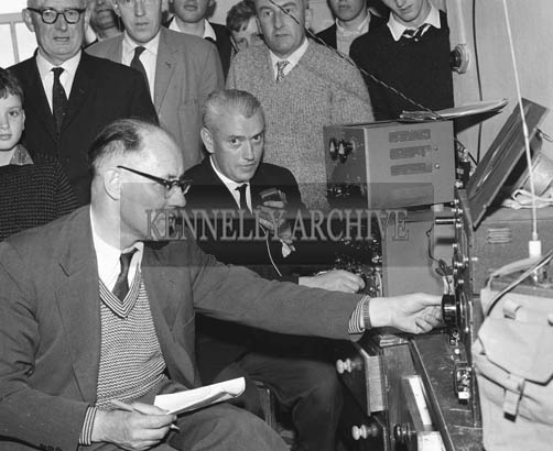 7th July 1964; A photo of Irish Hams Radios in Valentia.