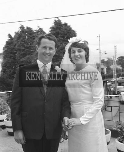 28th July 1964; A photo taken at the double wedding reception of the Carmody sisters at the Listowel Arms Hotel.