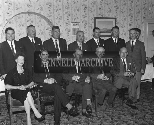 28th July 1964; A photo taken at the Tralee Race Committee Press Conference in Benner's Hotel.