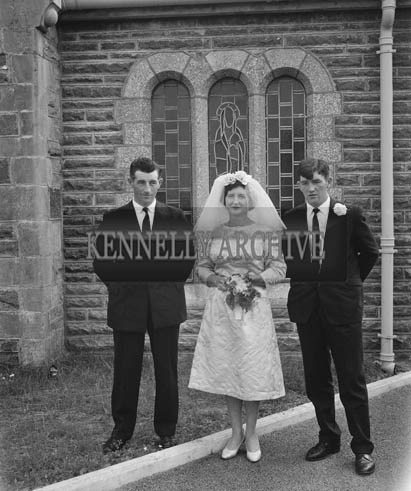 4th August 1964; A photo taken at the Cronin wedding in Lixnaw.