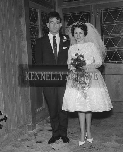 29th August 1964; A photo taken at Eileen Mulcahy's Wedding in Brosna.