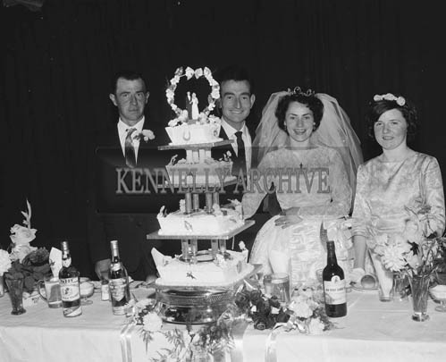29th August 1964; A photo taken at Eileen Mulcahy's Wedding reception.