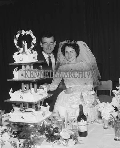29th August 1964; A photo taken at Eileen Mulcahy's Wedding reception.