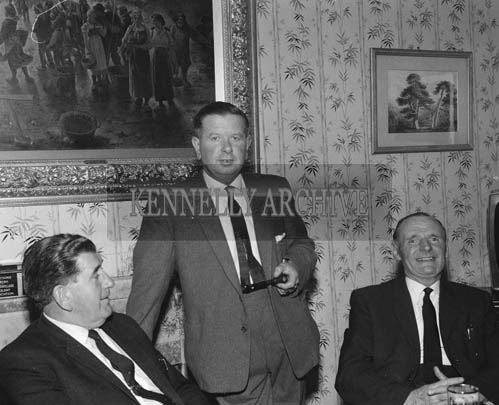 August/September 1964; A photo of the Festival of Kerry Committee. Roger Harty is at the centre of the photo.