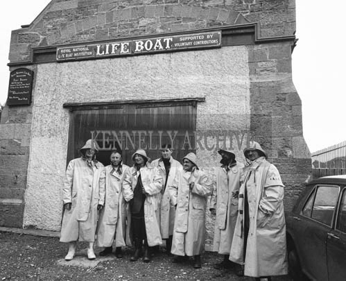 September 1964; A photo of the Fenit RNLI Lifeboat Crew.