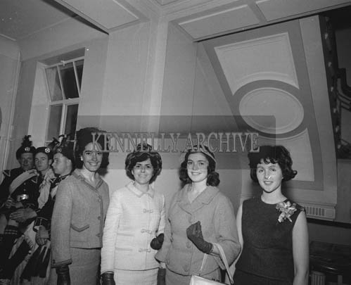 29th August-3rd September 1964; A photo of the roses in the Ashe Hall at the opening ceremony of the Festival of Kerry.