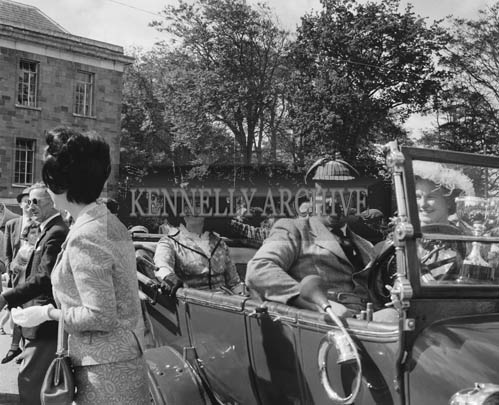 29th August-3rd September 1964; A photo of the Veteran Car Rally at the Festival of Kerry.