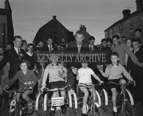 29th August-3rd September 1964; A photo of the tricycle race during the Festival of Kerry.