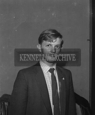 29th August-3rd September 1964; A photo of Billy Daly, Killarney, in Tralee during the Festival of Kerry.