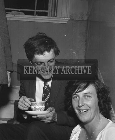 29th August-3rd September 1964; A photo of a couple in Tralee during the Festival of Kerry.