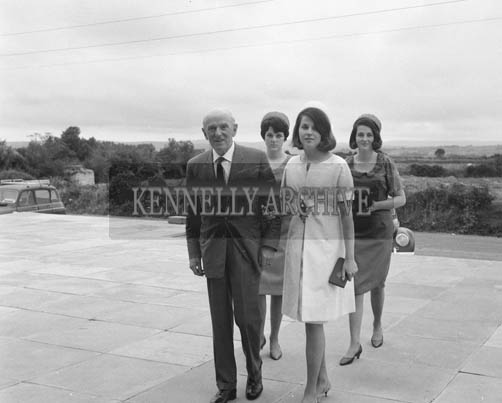 September 1964; A photo taken at the Scott/Ryan wedding in Knockanure Church. The groom's father, Michael Scott, was the architect who designed the church.