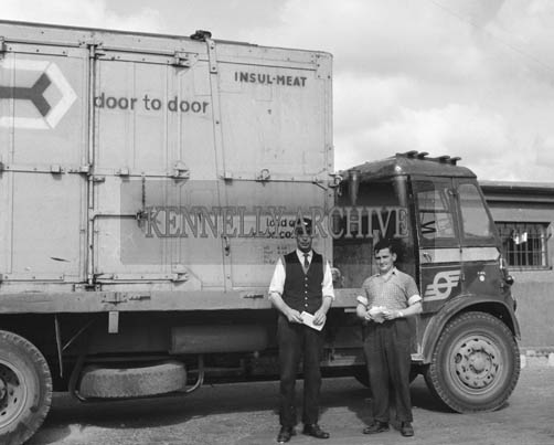 September 1964; A photo taken at the CIE Depot in Tralee.