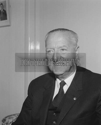 September 1964; A photo of Dr Eamonn O'Sullivan.