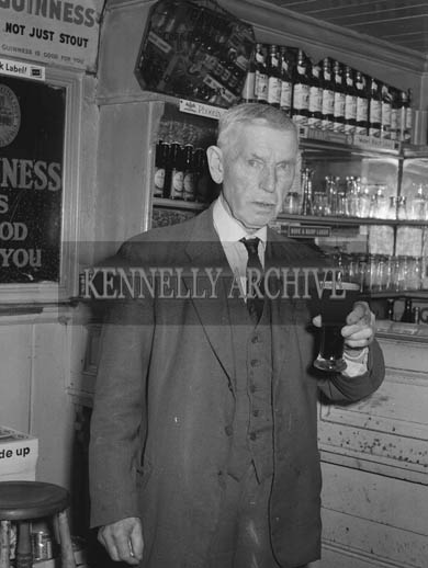 September 1964; A photo of Kerry Footballer Dan Breen, Castleisland who played with the 1903 Kerry Team.