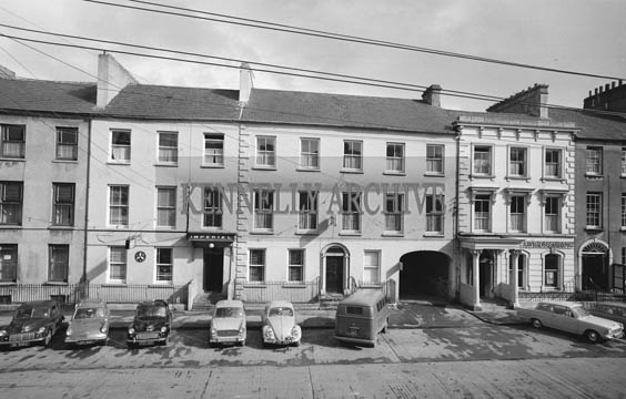 September 1964; A photo of the Imperial Hotel in Denny Street, Tralee.