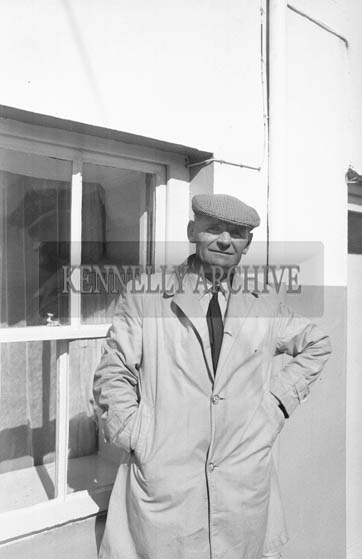 September 1964; A photo of Jimmy Barrett.