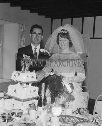 19th September 1964; The wedding reception of Michael O'Sullivan and Ann Devane in Dingle.