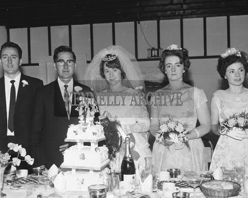 19th September 1964; The wedding reception of Michael O'Sullivan and Ann Devane in Dingle.