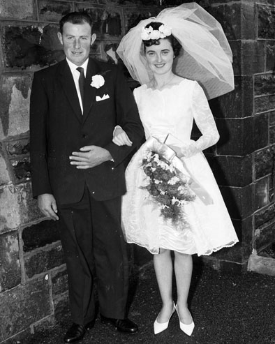 1964; A wedding in Kerry.