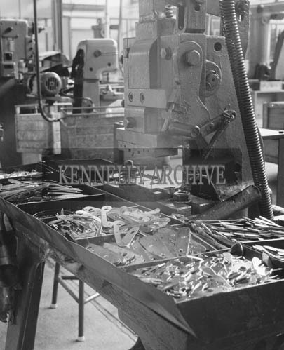 October 1964; A photo taken in the Jowika factory in Listowel.