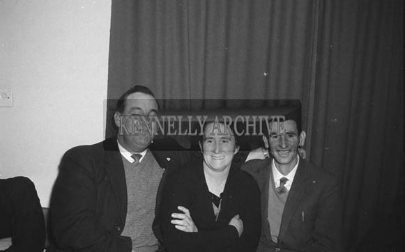 16th January 1964; People enjoying themselves at the Lixnaw Social in the Meadowlands Hotel, Tralee.