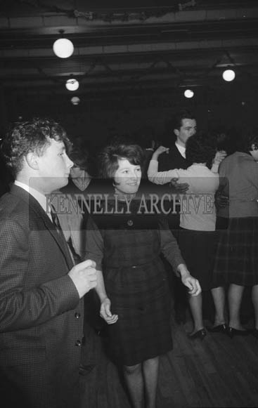 19th January 1964; People enjoying themselves at a dance in Firies.