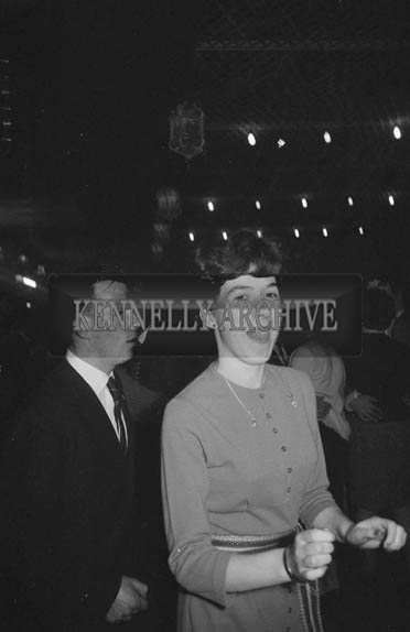 19th January 1964; People enjoying themselves at a dance in Ballymacelligott.
