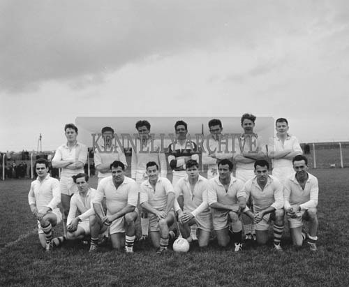 15th November 1964; A photo of the Kildare Senior Football Team who were defeated by Kerry 3-13 to 1-9 in a National League Match in Austin Stack Park in Tralee.