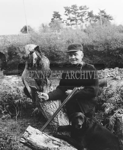 November 1964; A photo of hunter John Paul Doyle.