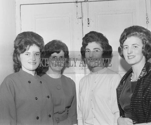19th November 1964; A photo taken at the INTO Social in the Meadowlands Hotel, Tralee.