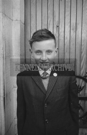 April 1964; A photo taken in Ballylongford on Confirmation Day.