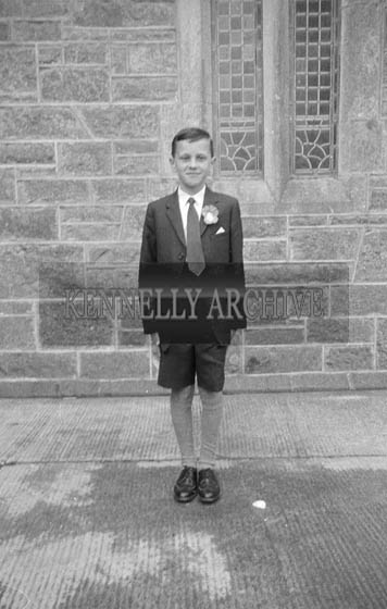 22nd April 1964; A photo taken on Confirmation Day in Ardfert.