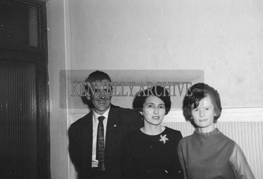 19th November 1964; People enjoying themselves at the INTO Social in the Meadowlands Hotel, Tralee.
