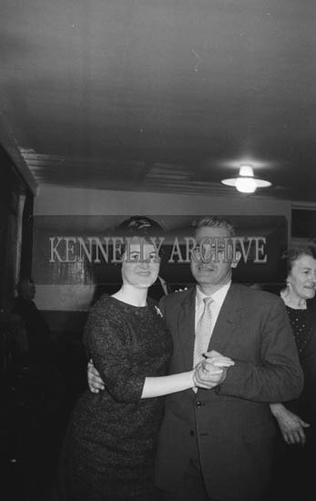 21st November 1964; People enjoying themselves at the Ballyduff Social in the Meadowlands Hotel, Tralee.