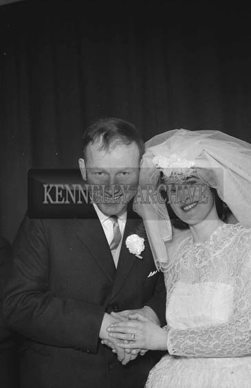 February 1964; A photo taken at a wedding reception in the Meadowlands Hotel, Tralee.