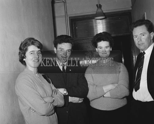 February 1964; A photo taken at the Macra na Feirme Social in the Hotel Manhattan, Tralee.