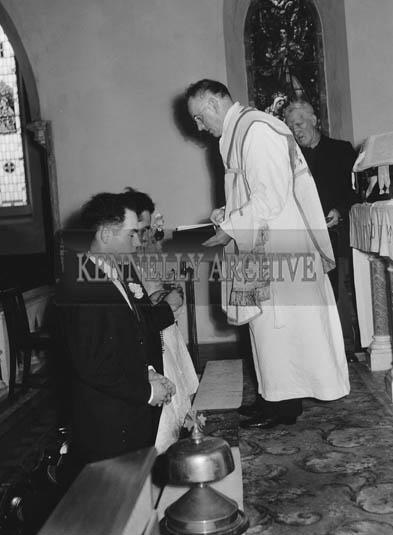 23rd November 1964; A photo taken at the Lane wedding.