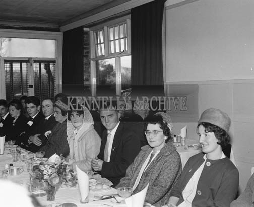 23rd November 1964; A photo taken at the Lane wedding reception in the Meadowlands Hotel, Tralee.