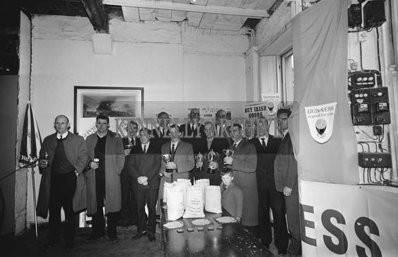 November 1964; A photo taken at the prize presentation in Latchfords Grain Competition.