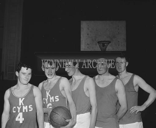 November 1964; A photo of a basketball team.