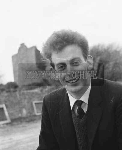 16th February 1964; A photo of Kerry playwright John McCarthy, who co-wrote a play with Maurice Murphy.