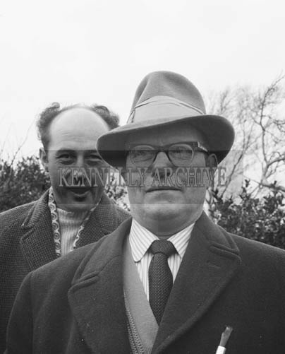 7th March 1964; Mr. Murphy who bought a house at the South Kerry Rail Auction.