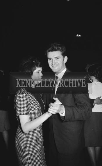 15th December 1964; People enjoying themselves at a dance in the CYMS in Tralee.