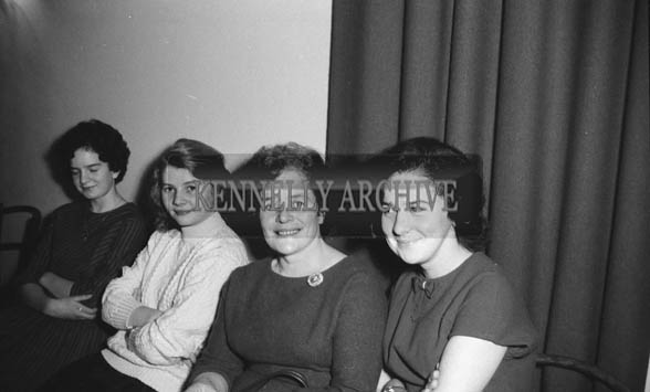 12th December 1964; People enjoying themselves at the Mountaineering Social in the Meadowlands Hotel in Tralee.